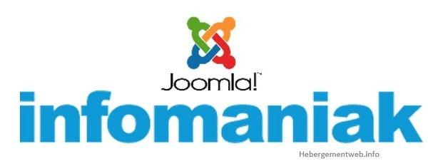 Hébergement joomla avec Infomaniak